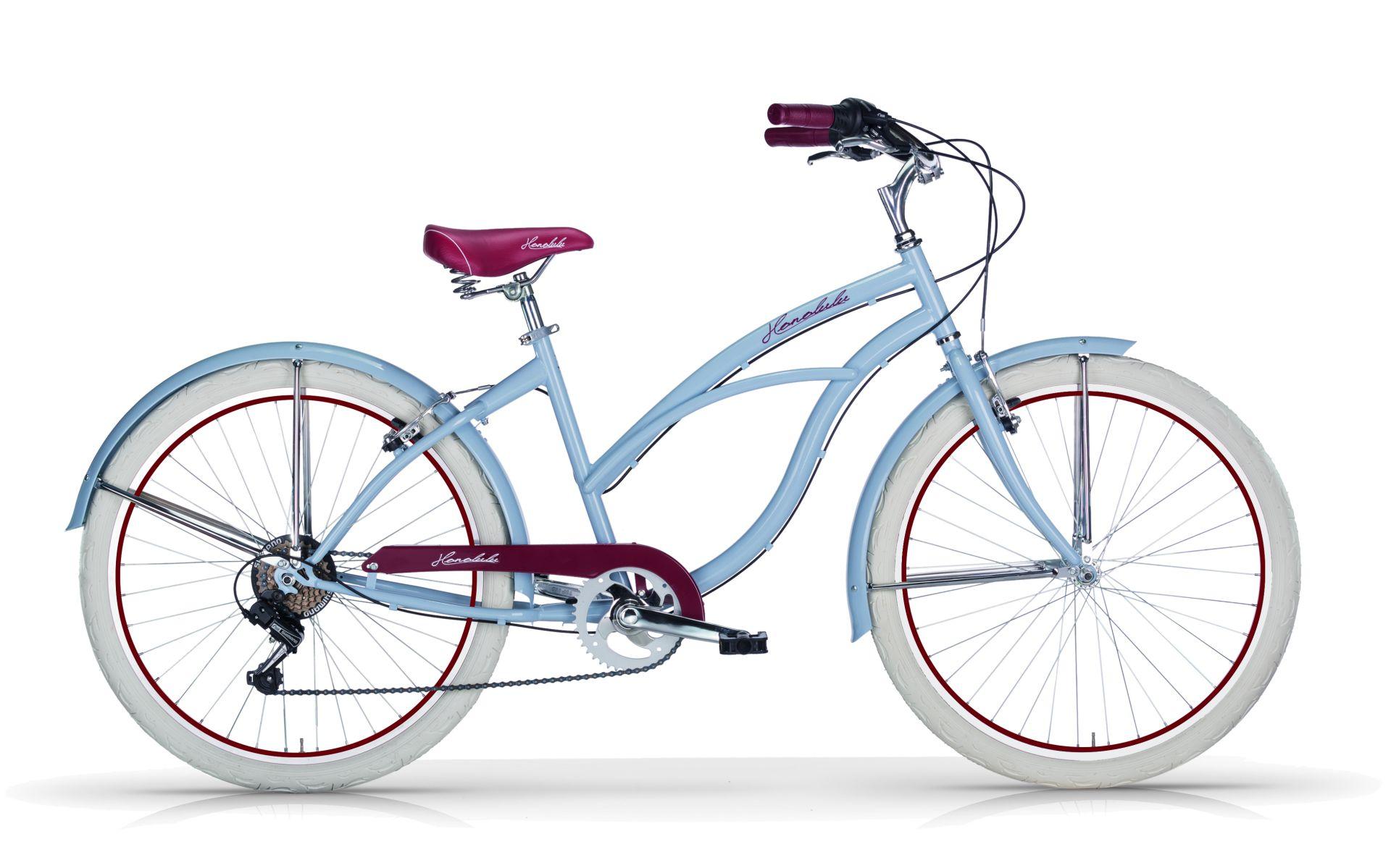 Bici Cruiser Donna Mbm Honolulu 26 6v Le Due Ruote