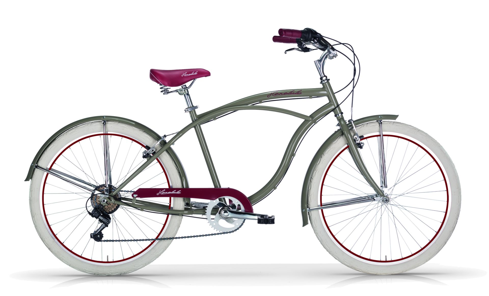 Bici Cruiser Uomo Mbm Honolulu 26 6v