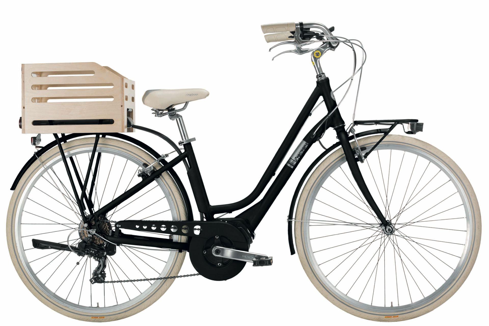 Bici E Bike E City Mbm Apostrophe Donna 28 7v